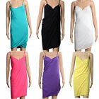 Hot Women Sling Beach Dress Bikini Deep V Neck Soft Swimwear Cover Up 7 Colors