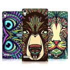 HEAD CASE DESIGNS AZTEC ANIMAL FACES CASE COVER FOR HUAWEI ASCEND P6