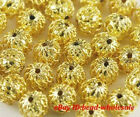 High quality 120pcs Gold plated spacer beads 7mm 2colour to choose