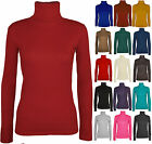*NEW* Girls Plain Long Sleeve ROSHING Neck Top - A Winter Basic - 2-13yrs