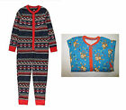 Boys onesie nightwear ex store age 1 2 3 4 5 6 7 8 9 10 11 12 13 14 years