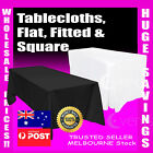 Tablecloths Wedding Tablecloth Rectangle Square Event Fitted Table Cloth White