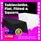 Tablecloths Wedding Rectangle Square Event Party Black White Table Cloth Trestle