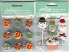 U CHOOSE  Jolee's SWEET TREATS   CHRISTMAS ORNAMENTS REPEATS 3D Stickers