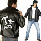 Mens Official Grease T-Birds T Bird 50's Jacket Fancy Dress Costume Danny Outfit