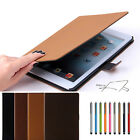 Luxury Suede Leather Smart Case Stand Retro Cover Cover For Apple ipad Air 5th