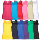 AWDis Ladies Cool Vest Shirt Top Wickable Breathable Running Training Gym JC015