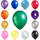 "50 Pcs 12"" Metallic Latex Balloons Wedding Party Decorations Supplies On Sale"