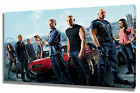 Wall Art Canvas Picture Print Fast and Furious Flight Framed