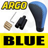 More images of BLUE & BLACK LEATHER CAR GEAR SHIFT LEVER KNOB MITSUBISHI SANTANO