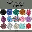 4mm Round Diamante Loose Flat Back Vajazzle Body Gems Choose from 18 Colours