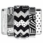 HEAD CASE DESIGNS BLACK AND WHITE DOODLE PATTERNS CASE FOR iPOD TOUCH 5G 5TH GEN