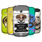 HEAD CASE DESIGNS FUNNY ANIMALS CASE COVER FOR SAMSUNG GALAXY S3 III MINI I8190