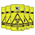 HEAD CASE DESIGNS HAZARD SYMBOLS CASE COVER FOR SAMSUNG GALAXY S2 II I9100