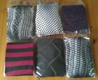 Designer Tights many styles and colours all brand new in packaging one size