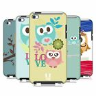 HEAD CASE DESIGNS KAWAII OWL CASE COVER FOR APPLE iPOD TOUCH 4G 4TH GEN