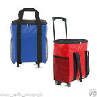 18Ltr Large Foldable Insulated Trolley Cool Bag - Camping Picnic Zip Up Lunch
