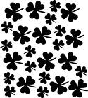 Clovers St Patrick's Day Vinyl Decal Wall Stickers Home Decor Art