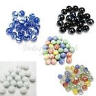 10Pezzi biglie di vetro 16MM GLASS MARBLES FOR TRADITIONAL GAME COLLECTORS HOM