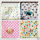 New High Quality Baby Boy/Girl Cot/Crib Cotton Blanket Cover Wrap Double Layers