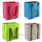 Portable Picnic Lunch Brunch Storage Bag Case Carry Tote Cooler Travelers Large