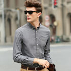 New Luxury Mens Casual Linen Shirts Popular 8 Colors Big Size RRP $78