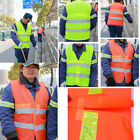 High Visibility Reflective Safety Vest Warning Working Clothes Thin Breathable