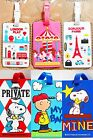 Luggage Name Tag Staff ID Card Holder Suitcase Backpack Baggage School Bag Strap