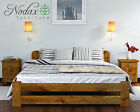 "*NODAX* New Wooden 100% Pine 6ft Super King Size Bed Frame ""ONE"" various colours"