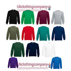 Fruit of the Loom Raglan Sweatshirt Jumper - 13 colours