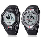Waterproof Outdoor Sports Men Digital Led Quartz Alarm Wrist Watch Cheap
