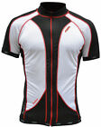 lusso carbon jersey short sleeve racing cycling jersey top black made in UK