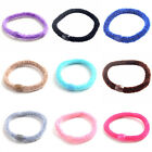5/10/15pcs New Child Girl Soft Cotton Elastic Ties Beauty Hair Band Rope KZUK