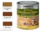 Ronseal Hardwood Furniture Stain - to protect hardwood garden furniture  750ml