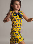 NWT Yellow Print Dress Summer By Llum Size 5