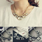 New Fashion Womens Choker Chunky Statement Bib Necklace Chain Pendant Jewelry