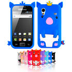 For Samsung Galaxy Ace S5830 S5839i Pig Cartoon Soft Silicone Case Cover