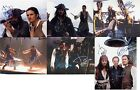 "Pirates of the Carribean Johnny Depp & Orlando Bloom 10 x 8"" Signed PP Autograph"