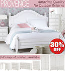 PROVENCE Antique White Bedroom Furniture, Shabby Chic chest of drawers, wardrobe