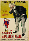 Vintage French ad print poster, large 4 sizes available-France 202