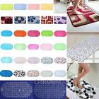 Anti Slip Shower Mat Massage Sucker Pad Carpet Shell Shape Home Bathroom