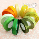 Yellow Green Series Sheer Organza Ribbon Wedding Party Craft Favor Gift Shower