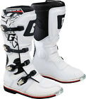 NEW GAERNE GX- 1 MOTOCROSS MX DIRTBIKE OFFROAD BOOTS WHITE ALL SIZES
