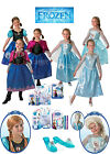 SALE! Kids Licensed Disney Princess Frozen Anna / Elsa Girls Fancy Dress Costume