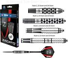 Winmau Zagato 90% Tungsten Steel Tip Darts - Full Set - Choose Style and Weight