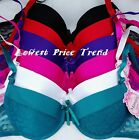 1 Bra OR Lot of 6 Bras, PLAIN LACE MESH DEMI BRAS 32B 38B 34C 38C 40C  BR4028PL