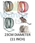 "TRIXIE 28 CM 11"" ALL METAL RAT DEGU FREE STANDING CAGE WHEEL 3 COLOURS 61003 NEW"
