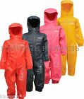 REGATTA PUDDLE ALL IN ONE WATERPROOF SUIT CHILDRENS KIDS CHILD BOYS GIRLS RKW130