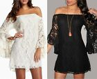 2014 Sexy Lady's Lace Floral Strapless mandarin sleeve Cocktail Party Mini Dress