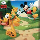 New Disney's Mickey Mouse & Friends Taking Pluto For A Walk Canvas Print
